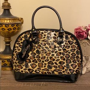 Loungefly Hello Kitty Leopard Bowling Bag